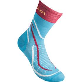 La Sportiva Sky Socks, azul/rojo